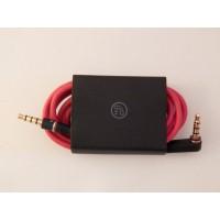 Оригинальный кабель с управлением и микрофоном для наушников Beats, длина: 1,4 м ч-красный