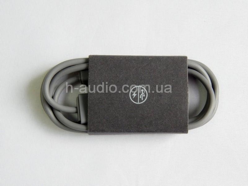 Оригинальный кабель USB для зарядки наушников, акустики Beats-серый