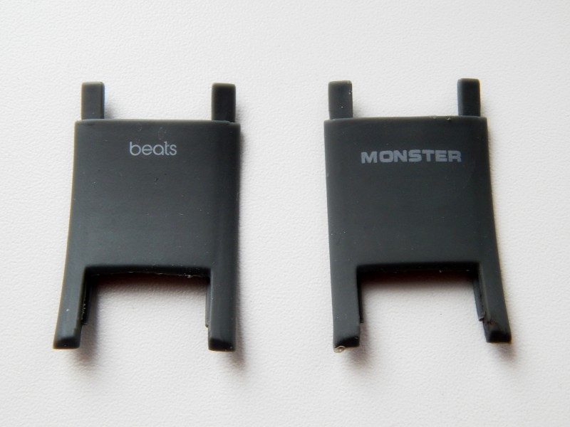 Пластиковый элемент Monster Beats Solo HD - серый